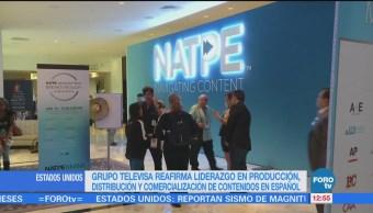 Televisa reafirma liderazgo en la producción de contenidos en español