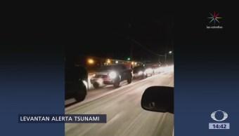 Terremoto de 7.9 grados estremece a Alaska
