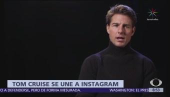 Tom Cruise estrena cuenta en Instagram