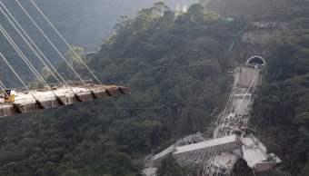 Diez trabajadores mueren Colombia caer puente construcción