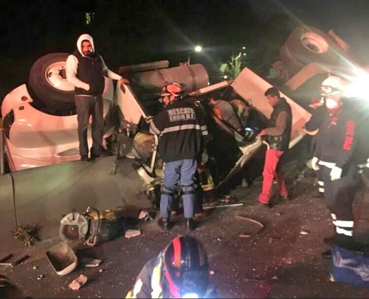 Cierran tramo de carretera México-Toluca por accidente en la vía