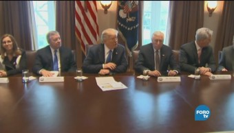 Trump Celebra Primer Año Gobierno Cerrado