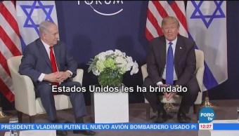 Trump exige a palestinos regresar al diálogo de paz con Israel