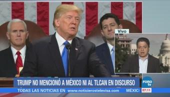 Trump pronuncia su primer Informe de Gobierno en el Capitolio