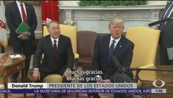 Trump quiere recibir a migrantes de todas partes
