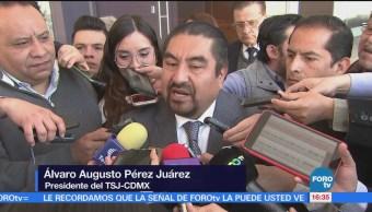 TSJCDMX respalda actuación de juez en caso del actor Alejandro Axel