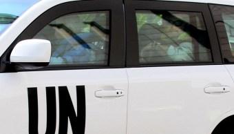 un vehiculo de la onu mata a un niño en colombia