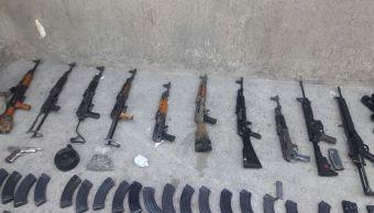 procesan a nueve personas por posesion de armamento