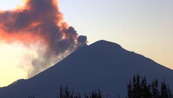 volcán Popocatépetl presenta 529 exhalaciones de baja intensidad.