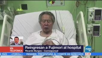 Vuelven Hospitalizar Expresidente Fujimori Expresidente Perú
