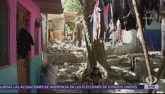 7 de cada 10 casas están afectadas Santa María Huazolottitlán, Oaxaca, tras sismo