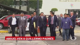 Absuelven a Guillermo Padrés