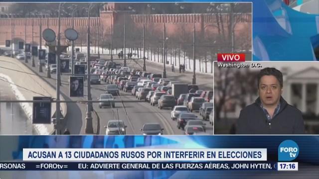 Acusan 13 Rusos Interferir Elecciones Eu