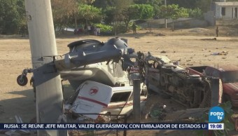 Navarrete Prida Lamenta Accidente Helicóptero Oaxaca