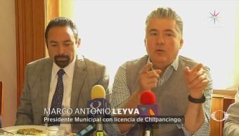 Alcalde con licencia de Chilpancingo ofrece conferencia en la CDMX