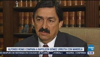 Alfonso Romo compara a Gómez Urrutia con Nelson Mandela