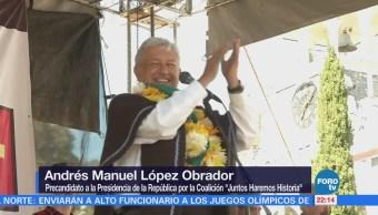 AMLO realiza gira por Puebla