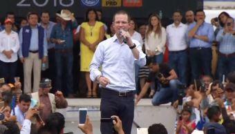 Anaya cierra precampaña con evento masivo en Coatzacoalcos, Veracruz