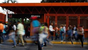 Apagón afecta Caracas y paraliza estaciones Metro