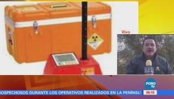 Aparece fuente radiactiva robada en León, Guanajuato