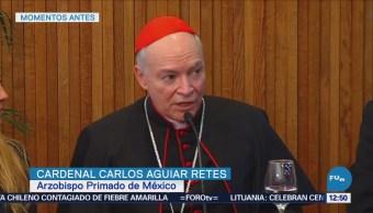 Arquidiócesis de México ayudará en caso de abuso sexual