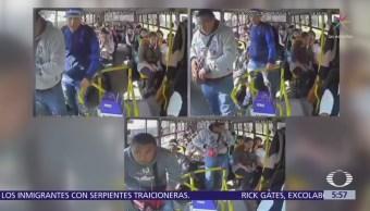 Asaltan transporte público al sur de la Ciudad de México