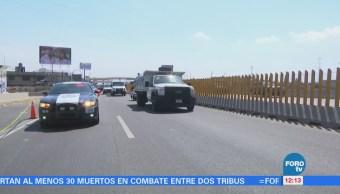 Asalto en la autopista México-Puebla deja una persona muerta