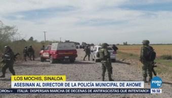 Asesinan a director de la Policía Municipal de Ahome Sinaloa