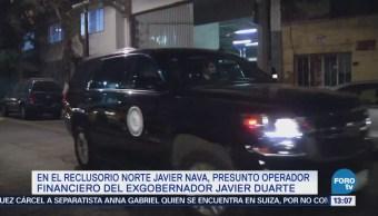 Así fue el traslado de Javier Nava Soria al Reclusorio Norte
