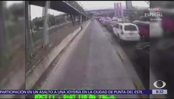 Atropellan Ciclista Intentar Ganarle Paso Metrobús Cdmx