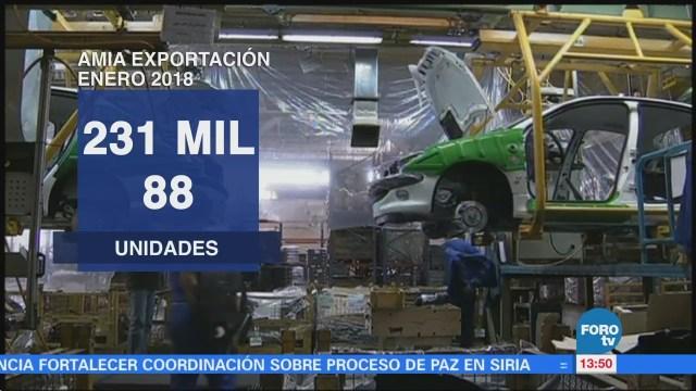 Aumenta la producción y exportación automotriz