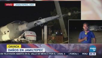 Autoridades siguen evaluando daños en Jamilpetec por sismo