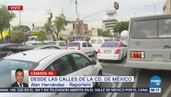 Avenida Fray Servando presenta buen avance vehicular