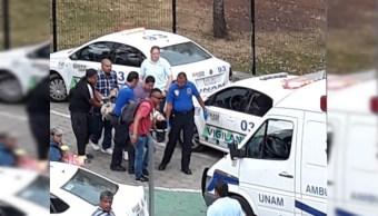 PGJ-CDMX investiga balacera en Ciudad Universitaria que dejó dos lesionados