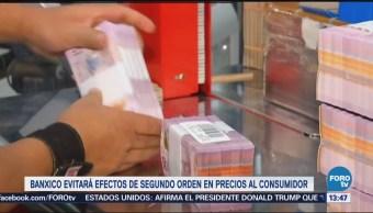 Banco México Aplicará Medidas Lograr Convergencia Inflación