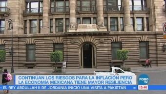 Banco de México da a conocer el resultado junta de política monetaria