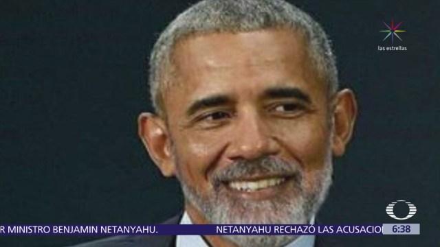 Barack Obama con barba se viraliza en redes sociales