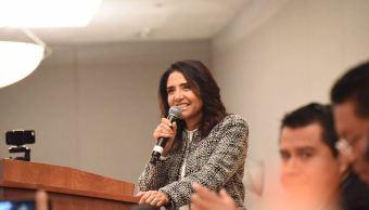 Confirman a Barrales como candidata de coalición 'Por la CDMX al Frente'