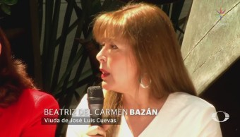 Beatriz del Carmen Bazán, única heredera de José Luis Cuevas