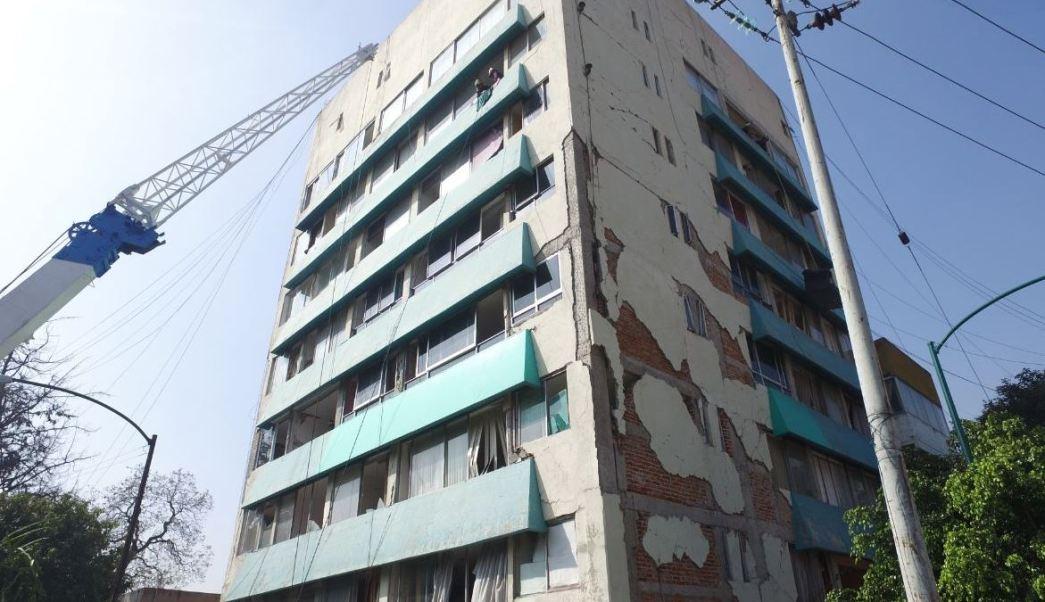 Vacían edificio en Toluca #28 para iniciar proceso de demolición