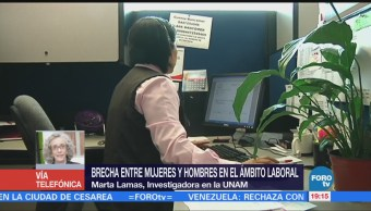 Brecha entre mujeres y hombres en el campo; análisis con Marta LamasBrecha entre mujeres y hombres en el campo análisis con Marta Lamas