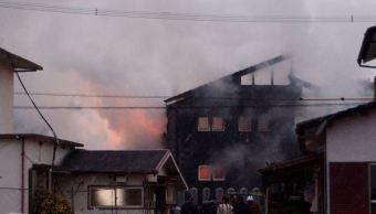 Helicóptero militar cae en zona residencial en Saga