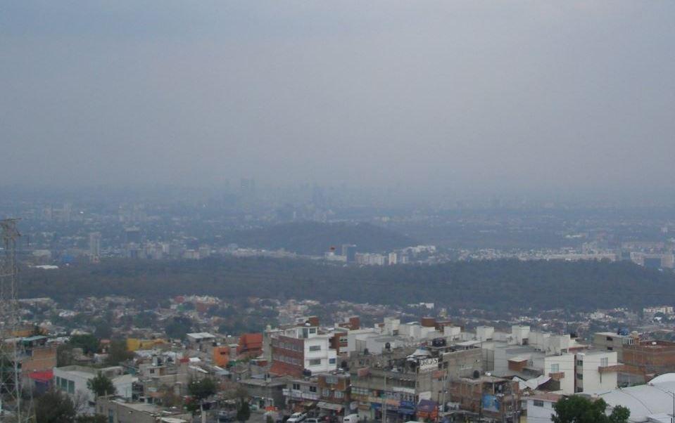Municipios mexiquenses y delegaciones de la CDMX presentan regular calidad del aire.(Twitter/@Aire_CDMX)