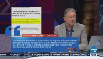 Cancillería Lamenta Muerte Joven Mexicano Escuela Florida