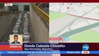 Manifestantes Llegan Inmediaciones Los Pinos
