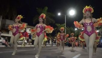 Inicia carnaval en Campeche; cumple 436 años de algarabía