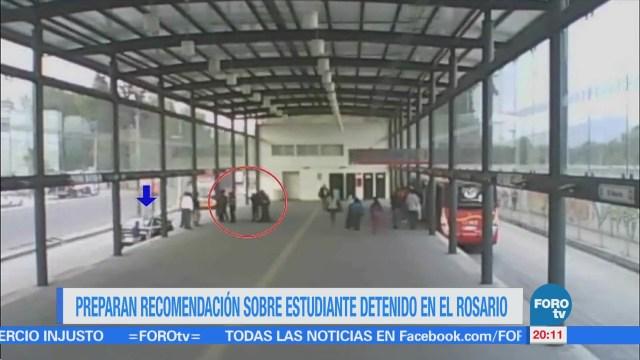 CDH prepara recomendación por caso Marco Antonio Sánchez