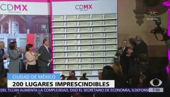 """CDMX presenta la guía """"Centro Histórico, 200 lugares imprescindibles"""""""
