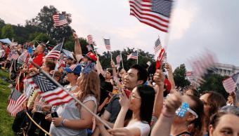 Celebraciones del Día de la Independencia en EU. (Getty Images, archivo)
