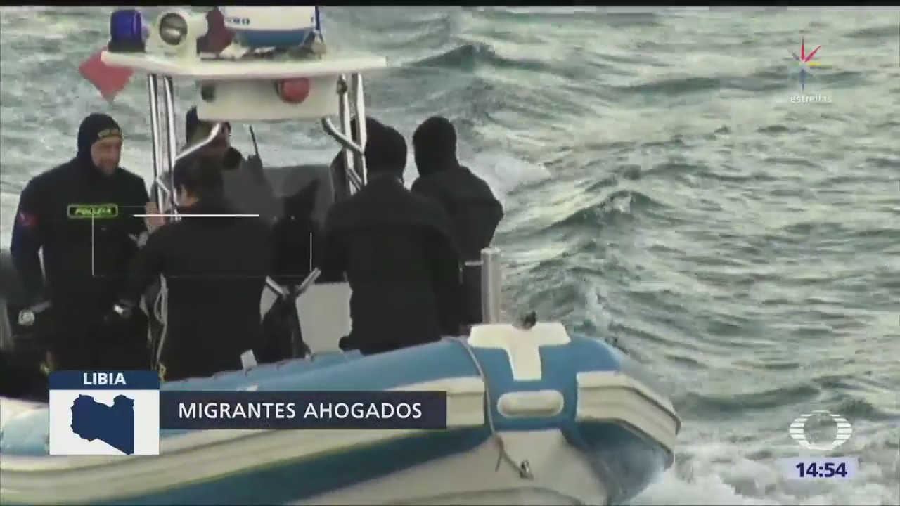 Cerca 90 Desaparecidos Tras Naufragio Libia